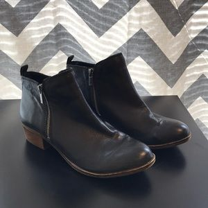 Lucky Brand black boots.